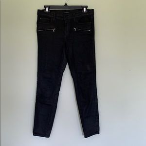 Ann Taylor Super Skinny Coated Jeans